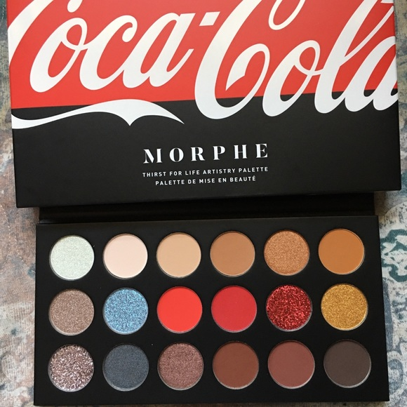 Morphe x Coca Cola Thirst for Life palette NWT